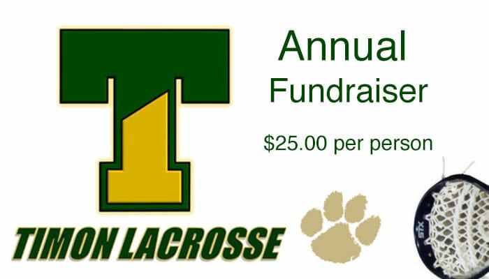 Timon Lacrosse Fundraiser   2.24.17