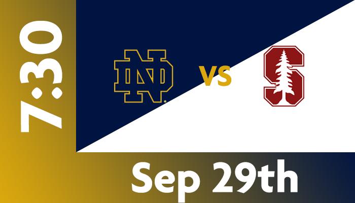 Notre Dame vs. Stanford