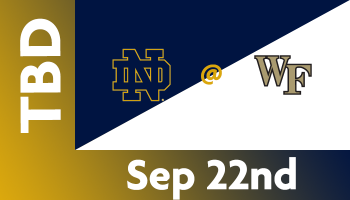 Notre Dame at Wake Forest